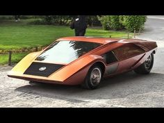 1970 Lancia Stratos Zero: A crazy concept from the Wedge Era - Sound & Driving on the Streets! - YouTube