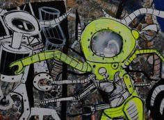 Depois das obras dos artistas plásticos brasileiros G. Fogaça e Pitágoras Lopes passarem por Venezuela e Espanha, a exposição Borderline chega a Salvador.