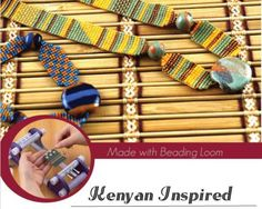 Have you heard about our Beading Loom?! If you haven't here's a project that gives you an idea of what you can do with it!