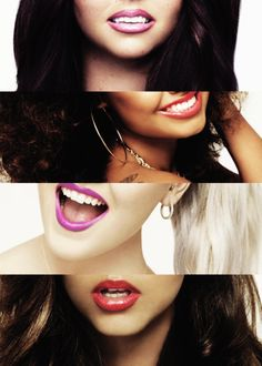 What I noticed a million years ago, in the little me lyric video, the lips singing has the same color lipstick as in the girls makeup!
