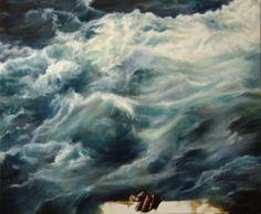 """""""Всемирный потоп / Noah's Flood"""" Olga Glumcher - Artwork on USEUM"""