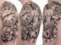 Realism Time Tattoo by Speranza Tatuaggi?