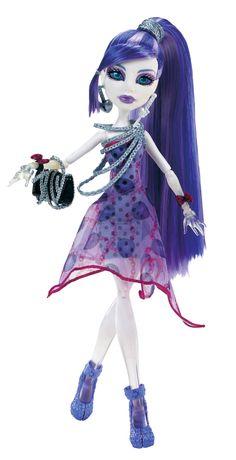 Monster High Dot Dead Gorgeous Spectra Vondergeist Doll