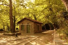 Old train rails station at Milies, Pelion, Greece | Flickr - Photo Sharing!