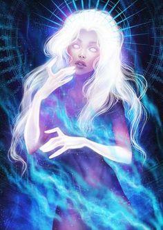 """Stellar Sky by Anastasia-berry on DeviantArt """"Stellar Sky"""" Anastasia Degtyarenko Dark Fantasy Art, Fantasy Artwork, Anime Kunst, Anime Art, Goddess Art, Pretty Art, Character Design Inspiration, Aesthetic Art, Art Inspo"""