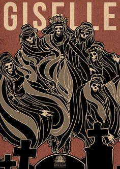 Giselle by Matthew Griffin, via Behance