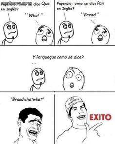Cómo se dice Panqueque en Inglés?