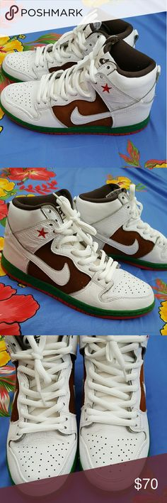 Nike SB California Dunk High Pro. Men's 8.5 Nike SB California Dunk High Pro. Men's size 8.5, Women's size 10. Do not have original box. Worn a few times, but still in great condition. No trades. If you BUNDLE 3 items, you get 15% off! Nike Shoes Athletic Shoes