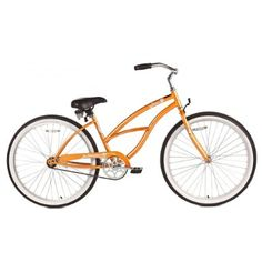 Micargi Pantera Beach Cruiser Bike, Orange, With an elegant design that you will find hard to resist, the Pantera is just plain fun. Recommended ages 12 and up. Bmx Bikes For Sale, Mountain Bikes For Sale, Cycling Bikes, Mountain Biking, Cruiser Bicycle, Road Bike Women, Sports Toys, Instagram And Snapchat, Orange