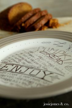 Recipe Plate Directions: Great DIY Christmas Gift--Just get a dollar store plate and Sharpies!