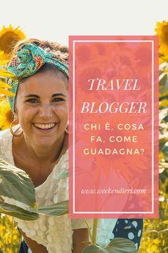 Aprire un blog di viaggi e diventare travel blogger! Scopri chi è un Travel Blogger, cosa fa e come guadagna! Vivere viaggiando è il sogno di molte persone! Apri un blog di viaggi e realizza anche tu il tuo sogno! #blogdiviaggi #travelblogger #blog #travelbloggeritalia @iweekendieri