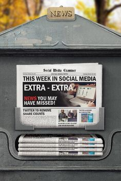 Twitter to Remove Share Counts: This Week in Social Media via @smexaminer