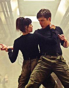 The look like they're in a musical, ok? || Zombie (Ben) & Ringer (Marika) ❤️ #Zinger