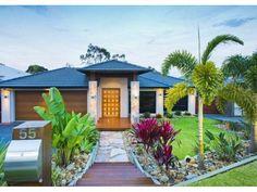 55 gumdale street wakerley qld 4154 outdoor landscape design inspiration pinterest street tropical garden and gardens - Front Garden Ideas Queensland