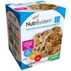 Nutrisystem D Chocolate Chip Cookie Packs 4 X 126 -- See this great product.Note:It is affiliate link to Amazon.