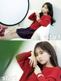 """Kim So Hyun, who has a cameo appearance as the Queen in the upcoming drama, """"Goblin"""" graces the pages of @Star1 for December. She looks lovely, check it out! Source 