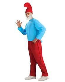 Papa Smurf is the leader of the Smurfs; easily distinguished by the red in his wardrobe and bushy white beard. Make a little magic on Halloween in this officially licensed The Smurfs Papa Smurf adult'