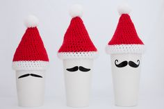 Christmas.  #momug #coffee cups #coffeecups #reusable #moustache