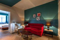 Todas las habitaciones cuentan con zonas para relajarse.