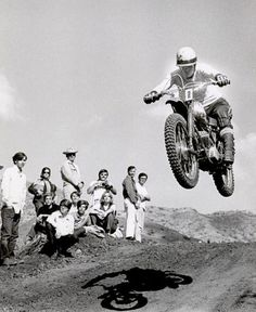 Joel Robert - 6 x World 250cc Motocross Champion at Westlake.  I've seen him race a few times in San Diego. He was and still is the fastest motocross rider of all time, who is second ? Marty Tripes.
