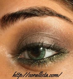 love this! I want to take some classes for applying makeup! who's with me?Very pretty :)