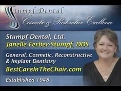 http://www.bestcareinthechair.com Stumpf Dental in Pewaukee, WI: Janelle Ferber-Stumpf, DDS Created by www.infostarproductions.com