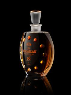 Macallan single-malt Scotch - The Drink Good Whiskey, Cigars And Whiskey, Scotch Whiskey, Bourbon Whiskey, Alcohol Bottles, Liquor Bottles, Perfume Bottles, Vodka, Single Malt Whisky