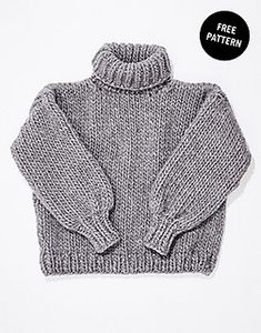 Let's Do This Sweater pattern by Wool and the Gang FREE cropped pattern: Let's Do This Sweater by Wool and the Gang Jumper Knitting Pattern, Jumper Patterns, Easy Knitting, Knitting Patterns Free, Knitting Tutorials, Stitch Patterns, Cardigan Pattern, Loom Knitting, Crochet Patterns