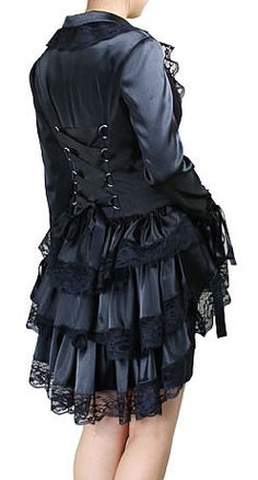 Shop a great selection of Gothic Infinity - Black Gothic Victorian Corset Ruffle Lacey Jacket. Find new offer and Similar products for Gothic Infinity - Black Gothic Victorian Corset Ruffle Lacey Jacket. Victorian Corset, Victorian Steampunk, Victorian Fashion, Gothic Fashion, Dark Fashion, Fashion Women, Women's Fashion, Punk Outfits, Gothic Outfits