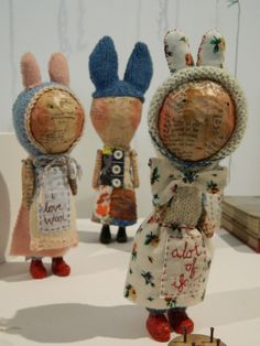 Some devine whimsical sculptures by the lovely Julie Arkell...