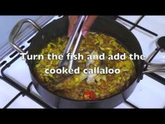 ▶ Jamaican Fish with Callaloo & Coconut milk - Super easy recipe - How to cook great food - YouTube