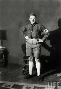 Hitler with shorts