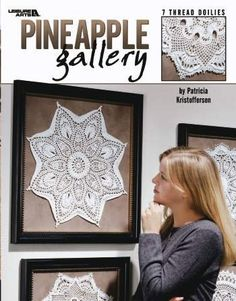 Pineapple Gallery - Crochet Patterns - I Crochet World Crochet Book Cover, Crochet Books, Crochet World, Crochet Home, Crochet Kits, Knitting Books, Knitting Projects, Crochet Stitches, Crochet Patterns