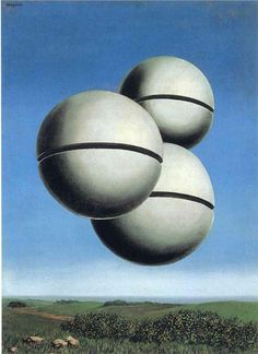 Rene Magritte, Voice of Space 1928 from Peggy Guggenheim collection, Venice