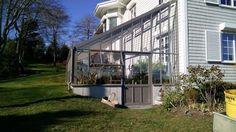 A bespoke lean-to Hartley Botanic glasshouse in the USA. #Glasshouse #Greenhouse #Hartley #Garden #Gardening