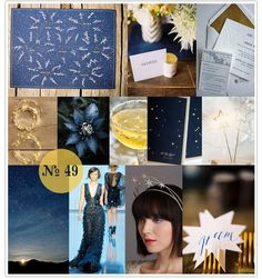 Across the Universe, constellation-themed wedding, starry wedding, star wedding, blue and gold, midnight blue