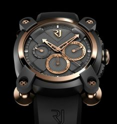 36f82c1a7317 Romain Jerome Moon Invader Eminence Grise Chronographe Relojes Hombre