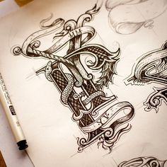 Lovely Sketch Collection on Instagram by Ink Ration   Abduzeedo Design Inspiration