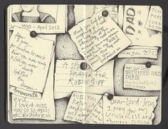 15 memory by andrea joseph's illustrations, via Flickr
