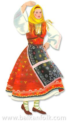 Hello all, Today I am going to talk about the costume of the Bulgarian population of Dobrudja. Dobrudja is the region between the lo. Folk Embroidery, Learn Embroidery, Embroidery Patterns, Shirt Embroidery, Folk Clothing, Borders For Paper, Wallpaper Iphone Cute, Folk Costume, Bulgarian