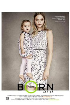 VICTORIA BECKHAM is just one of the designer names creating exclusive mother and child pieces for charity Born Free. The designer unveiled a dress with a matching mini-me girls' counterpart – modelled by Vogue cover girl Sasha Pivovarova and her daughter Sasha Pivovarova, Mommy And Me Dresses, Mommy And Me Outfits, Little Girl Dresses, Victoria Beckham, Join Fashion, Fashion News, Mommy Fashion, Fashion Events
