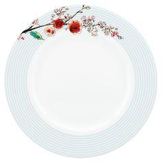 Lenox Chirp Stripe Dinner Plate