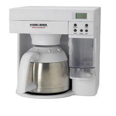 Spacesaver coffee maker black and decker sdc 740b - Space saving coffee maker ...