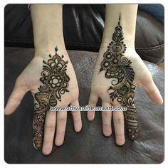 Pretty Henna Designs, Finger Henna Designs, Simple Arabic Mehndi Designs, Mehndi Designs For Girls, Mehndi Designs For Beginners, Modern Mehndi Designs, Dulhan Mehndi Designs, Mehndi Design Pictures, Wedding Mehndi Designs