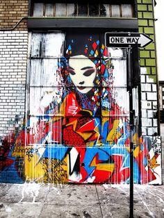 Wow...pretty...street art