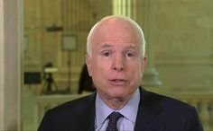 """John McCain is making it very clear that he isn't just going to go along with everything President Trump proposes, despite the fact they are both Republicans. The Arizona senator just won a six-year term so he isn't concerned about being re-elected. And just a few days into the new administration, he's showing that he has no problem speaking out against the president. """"Look, there's no evidence of that and I think that those who allege that have to come up with some substantiation of the…"""