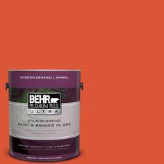 BEHR Premium Plus Ultra 1-gal. #P190-7 Inferno Eggshell Enamel Interior Paint