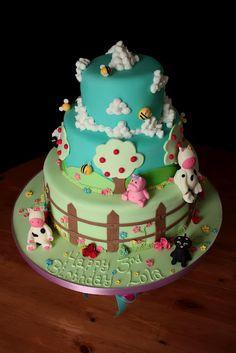 It will be nice to have this cake @my daughter b'day