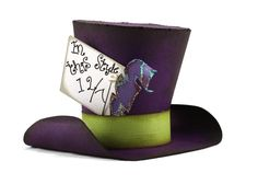 Mad Hatter Paper Hat perfect for a Mad Hatter Tea Party or Alice in Wonderland party. Cut files and instructions in the Pazzles Craft Room.
