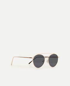36 best eyewear images in 2019 Oakley Polarized Sunglasses Women zara woman metallic glasses zara damen eyewear metallic eyeglasses woman
